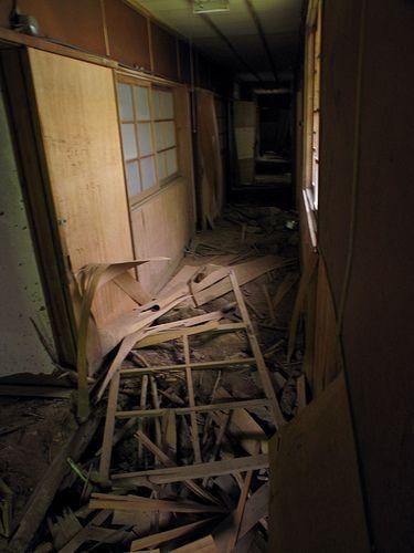 decaying walkway