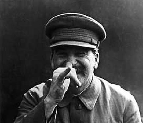 Stalin with the Soviet version
