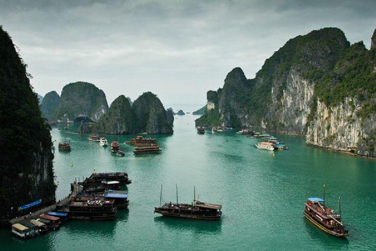 Ha Long-öböl, Vietnám