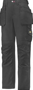 Snickers 3714 Holster Ladies Trousers Size 12 30 waist. Multi-pocket ladies work trousers. Workwear gusset in the crotch and a low, shaped waistband for a comfortable yet durable fit. 100% Cordura reinforced knees. http://www.comparestoreprices.co.uk/january-2017-9/snickers-3714-holster-ladies-trousers-size-12.asp