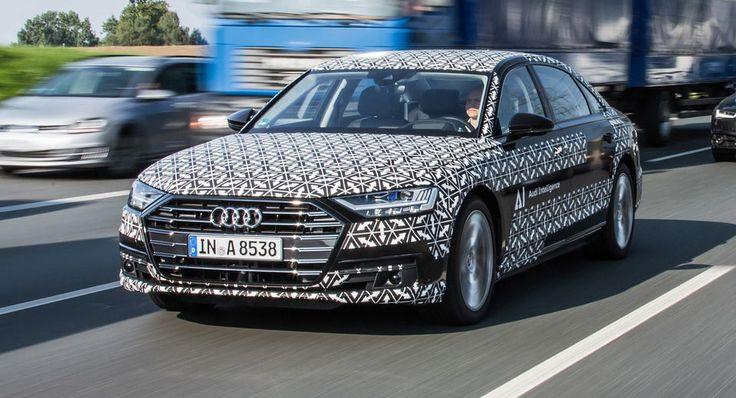 Audi Details New A8s AI Traffic Jam Pilot First Level 3 Autonomous System On The Market