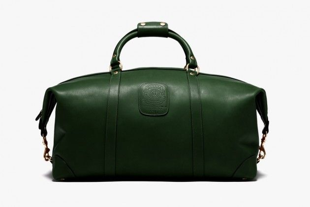 Better than Ok. Ghurka Bags Fall 2014 New Navy and Green Luggage Sets • Selectism