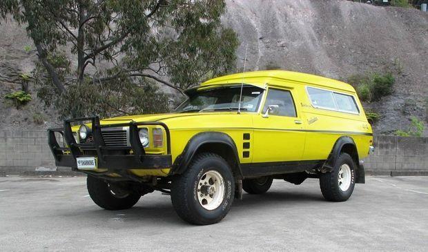 "1976 GM Holden ""Overlander"" Sandman Panelvan"