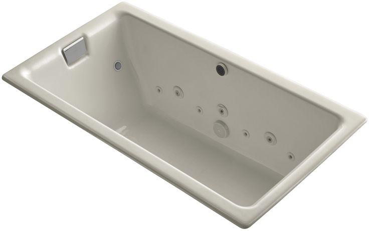 "Tea-For-Two 66"" x 36"" Whirlpool Bathtub"