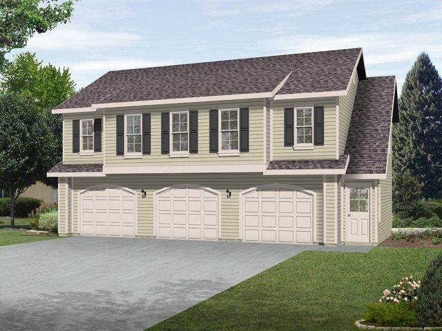 Best 25 two car garage ideas on pinterest garage with for 2 car garage with apartment above
