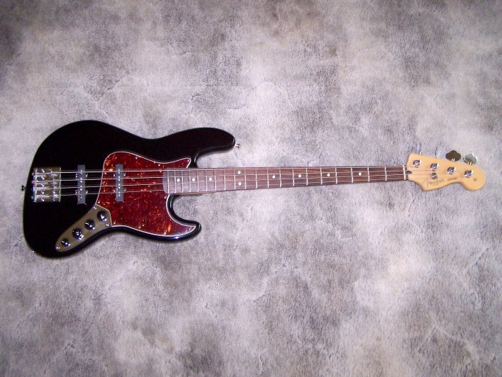This is what my bass looked like before I modified it.