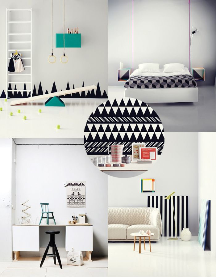 Susanna Vento: Spaces, Dreams Rooms, Amm Blog, Black White Neon, Black And White, Colors Combinations, Graphics, Interiors Items, Interiors Decor