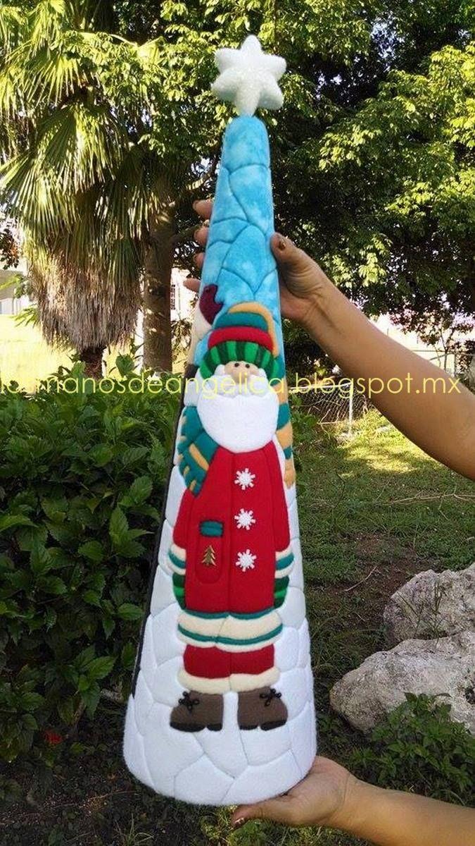 cono de navidad