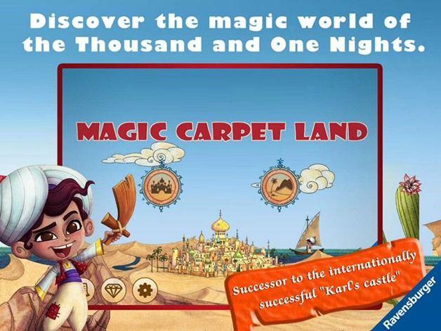 magic carpet land Ravensburger kids app