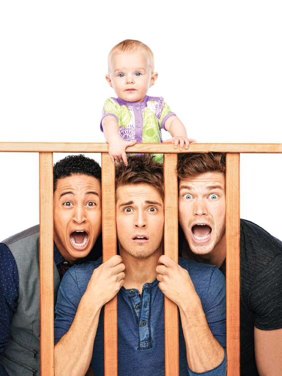 Baby Daddy-ABC family 3 hot guys and a baby...? I'm down ;)