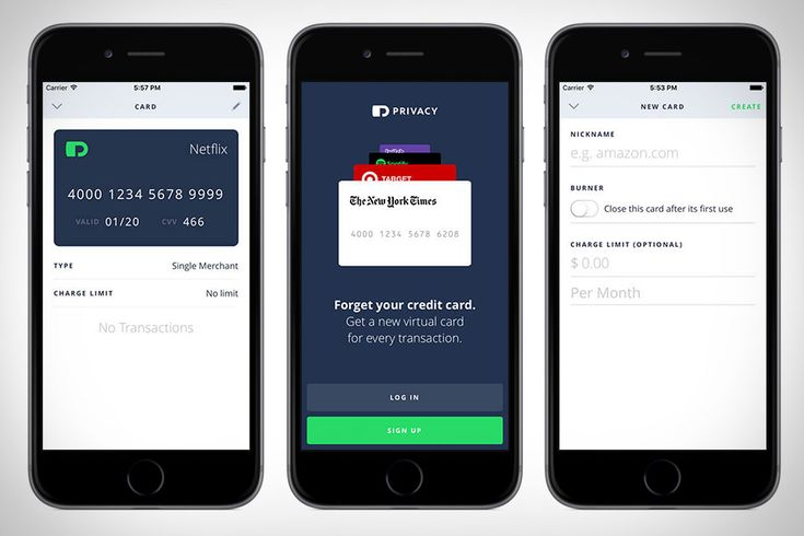 Security breaches happen despite the best efforts of even the biggest merchants. Keep yourself protected with Privacy. This smart app creates a new custom Visa card for every online store you frequent and locks the card to that merchant -...