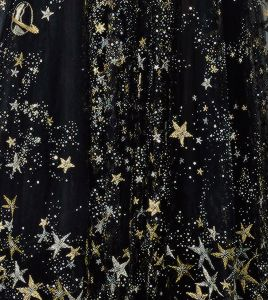 Space Dress Regal Gold Black Aesthetics Tumblr Gold Aesthetic
