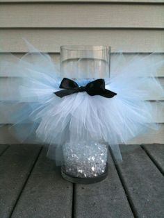 Tutu and bow tie baby shower on Pinterest | Tutu Centerpieces ...
