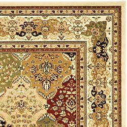 Safavieh Lyndhurst Collection Multicolor/ Ivory Rug (6' x 9')