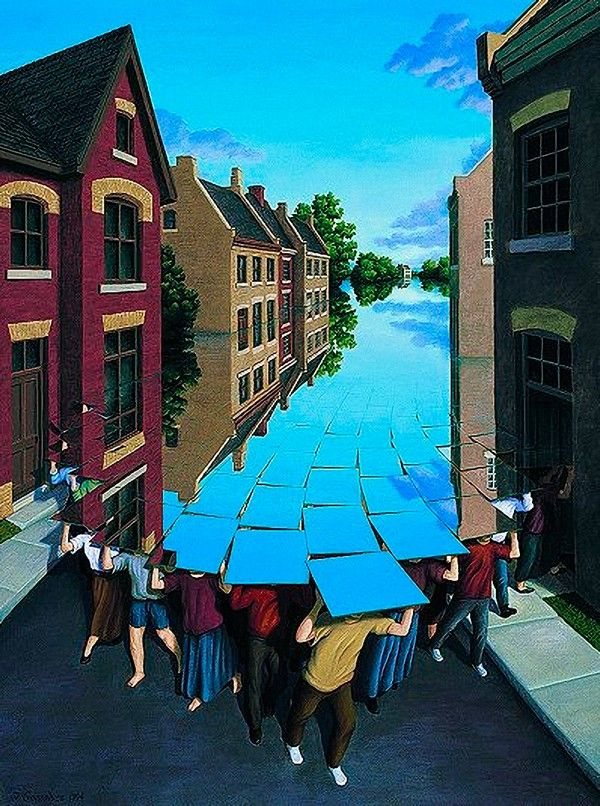 rob gonsalves, here comes the food,