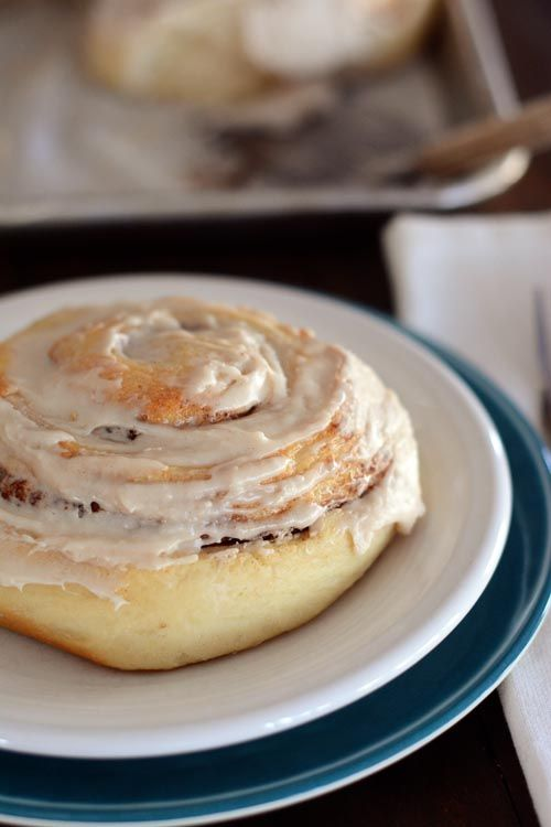 cinnamon rolls - I should try this recipe!