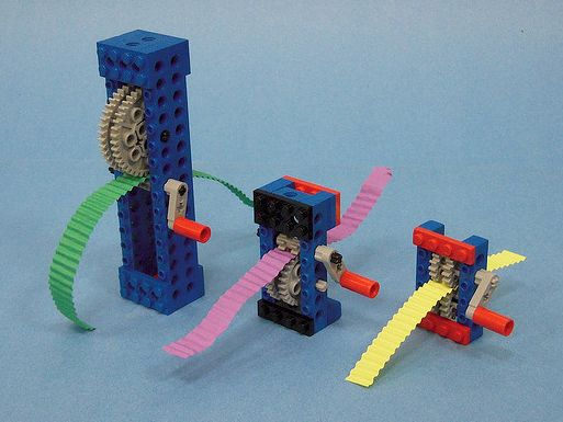 LEGO paper crimper, Charlie could totally make me one of these!