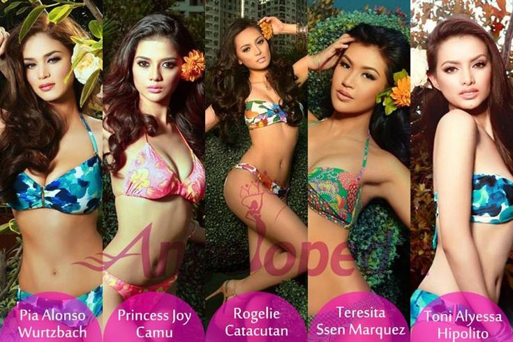 Binibining Pilipinas 2015 Early Favourites by Angelopedia