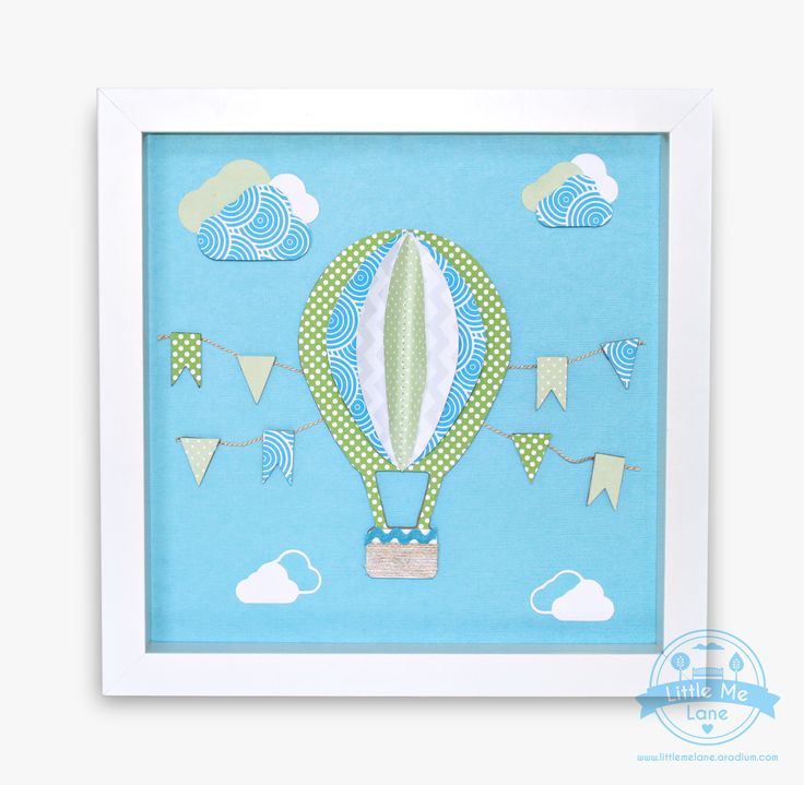 Hot Air Balloon Wall Art - To purchase please visit our facebook store https://aradium.com/5p424