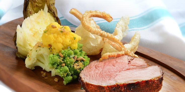 Roast Pork with Salt and Pepper Crackling and Autumn Brassicas Recipe - Great British Chefs