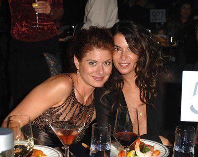 Annabella Sciorra and Debra Messing