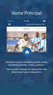 Fútbol Movistar: miniatura de captura de pantalla