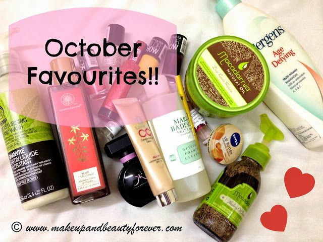 Make up and Beauty Blog   MBF   Beauty Products Reviews   Hair   Skin   Makeup and Beauty Forever: October Favourites 2013