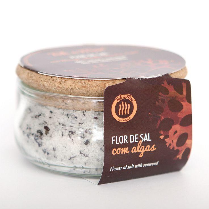 Flor de Sal com Musgo-irlandês