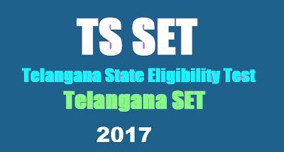 Hightlightsforeducation: TS SET Exam 2017 Result