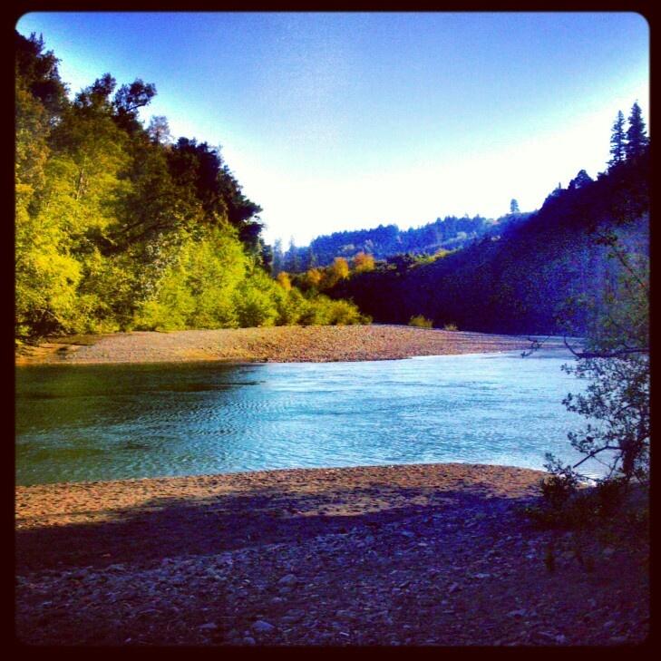 Chetco River Brookings Oregon Loeb state park