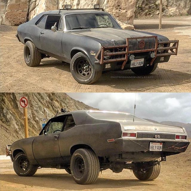 Such a great battle ready nova from @chevycasanova ! Reminds me of something from mad max! TAG...