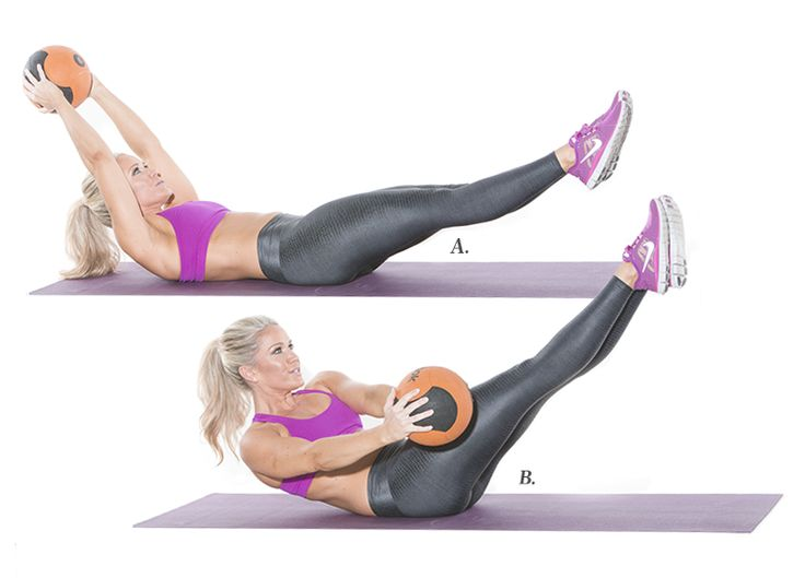 These seven unique moves will wake up every square inch of your abdominals, especially your transverse abdominus and obliques.
