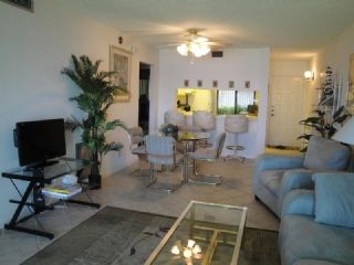 Living/Dining Area ~ BA P-109 ~ Bahia Pointe Condo ~ 2 bedrooms, 2 bathrooms ~ 2 Flat Screen TVs, Covered Parking, DVD Player, Fishing Dock, Fitness Center, Ground Floor, Heated Pool, WirelessInternet Service, WiFi, Queen Size Bed in Master Bedroom,Sofa Bed in Living Room, Two Twin Size Beds in Guest Bedroom, Washer / Dryer ~ For more information, please contact Compass Vacation Rentals at 7327.864.5610 or reservations@compassrentals.com. Thank You! www.CompassRentals.com