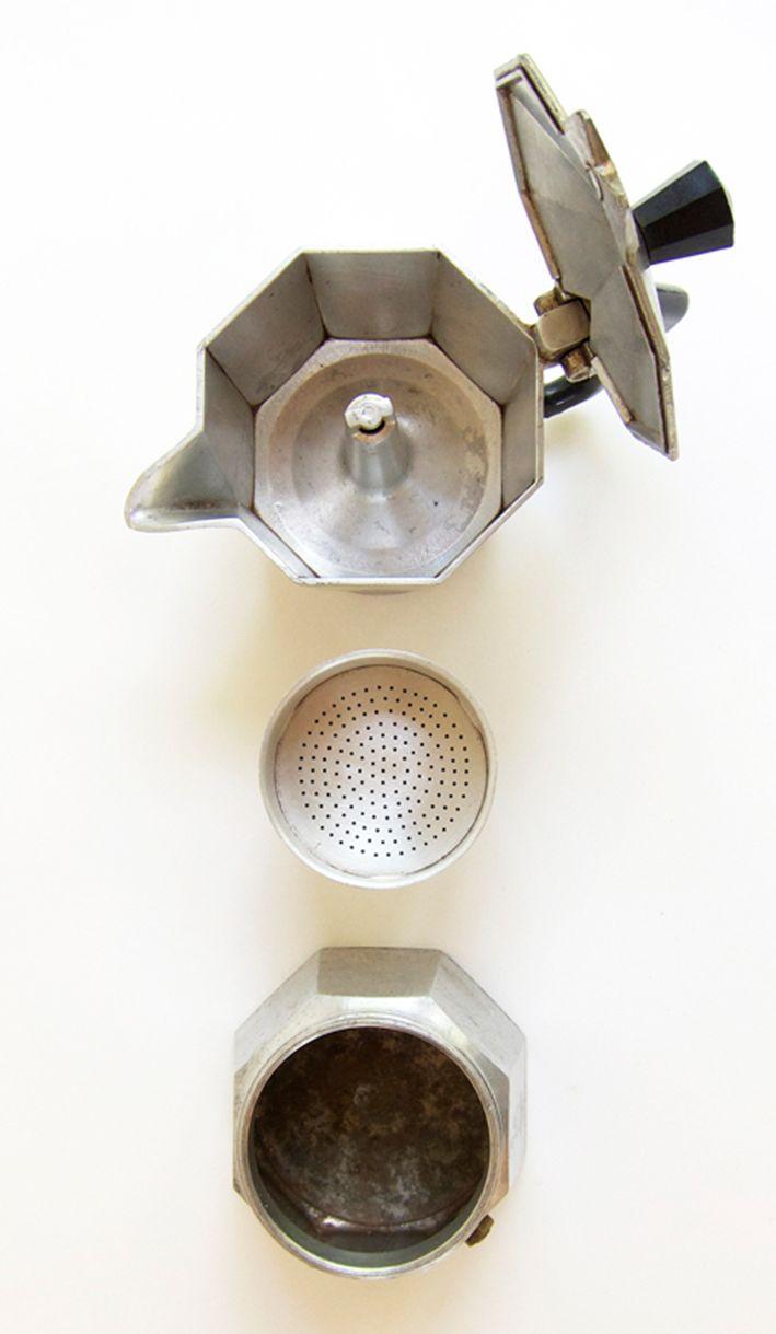The Italian coffee, Moka Express since 1933 by Alfonso Bialetti.