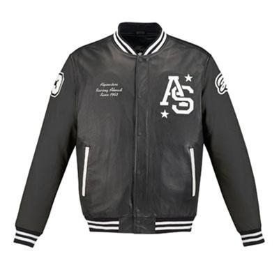 Alpinestars Team Win Leather Motorcycle Jacket