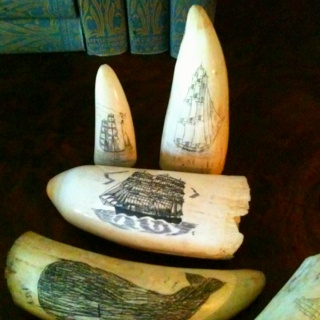 """Scrimshaw Collection. """"Sailors Right""""  Grog"""