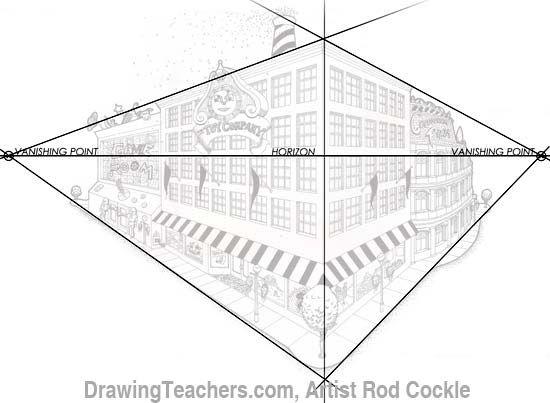 Perspective Drawings Of Buildings 16 best perspective tips images on pinterest | perspective drawing