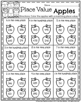 Back to School First Grade Worksheets | Epic Math Ideas | Pinterest ...