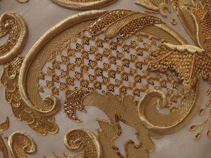 Embroidery workshop Sebastián Marchante
