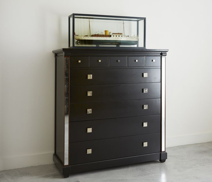 The Torberry large chest has five small and five large drawers simonhorn.com