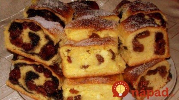 Famózny závin podľa starého receptu: 3 príchute z 1 várky!