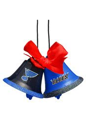 St Louis Blues Two Bells Ornament
