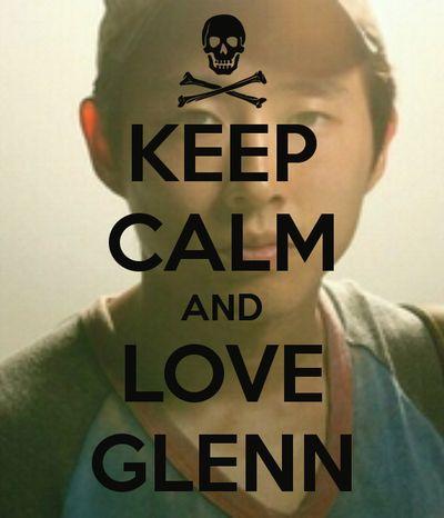 the walking dead Glenn meme.
