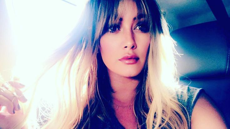 Hilary Duff Just Got The Most Flattering Kind Of Bangs | SELF