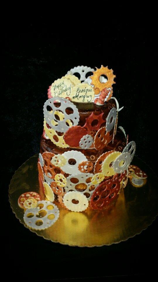 Mechanical Engineer Birthday Cake Done By Sugarplum