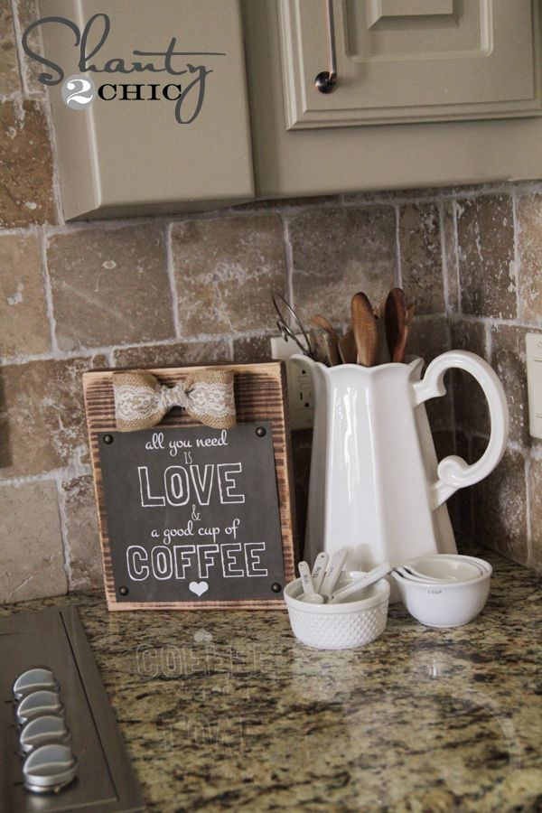 Best 25 coffee theme kitchen ideas only on pinterest for Coffee shop kitchen decorating ideas