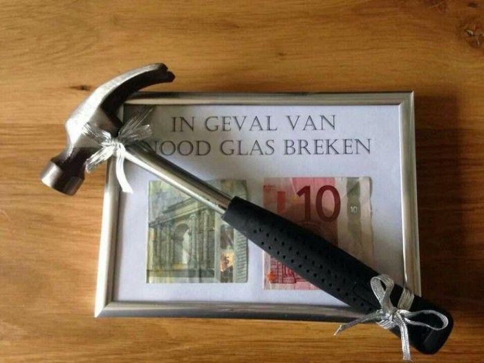 Originele manier om iemand geld cadeau re geven