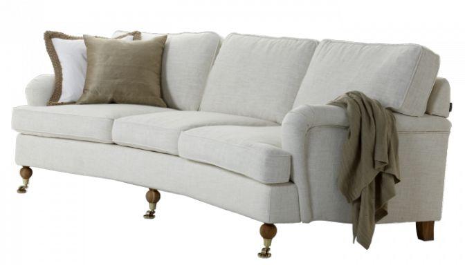 Svängd Howard-soffa