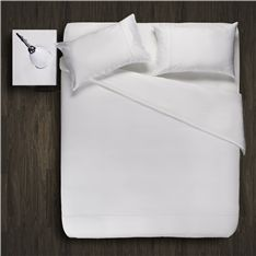Turn your bedroom into a hotel with these elegant white duvet cover egyptian cotton  @HomeU