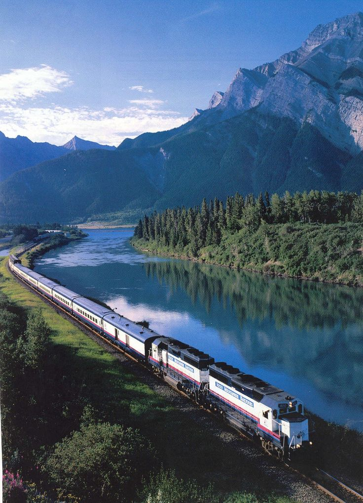 Train Travel in Canada - . With countless different routes you can choose from, such as long haul coast to coast trains, to just city to city rides. Each of them provide a unique look into the Canadian landscape.